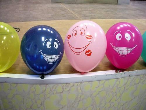 шарики смешные фото